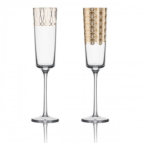 Kieliszki do szampana | set 01